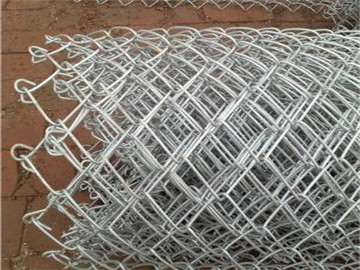 钢丝勾花网